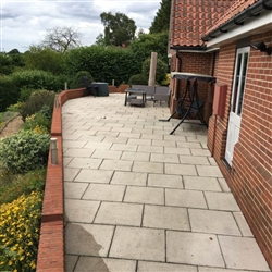 And here is the after photo of a patio area, Copdock, Near Ipswich