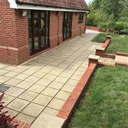 And after we pressure washed a patio area, Copdock, Near Ipswich
