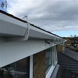 Gutter, Fascia and Soffit after cleaning, Valley Road, Ipswich, Suffolk